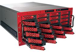 5U 24ベイ 最大容量40TBを誇る大容量