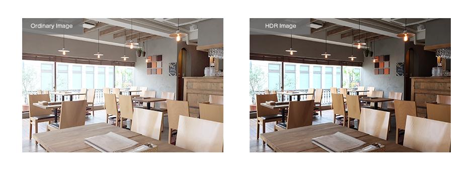 自動的にホワイトバランスを調整し、様々な照明条件でも画像をはっきりと表示が可能