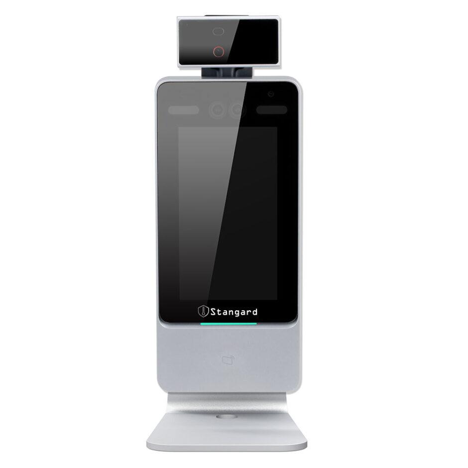 顔認証型検温カメラ Stangard 卓上スタンド