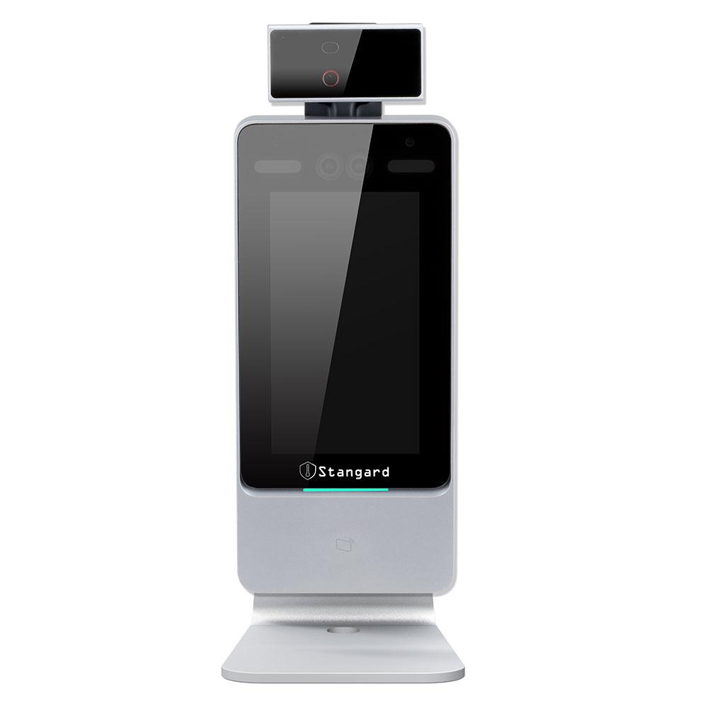 顔認証型体表面温度+マスク検知機 Stangard(スタンガード)